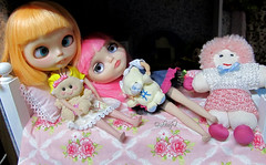 Blythe a Day August: 21 - Other dolls