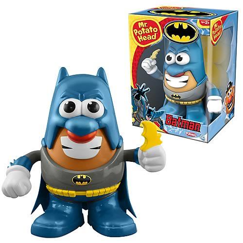 蛋頭先生 X 漫畫版蝙蝠俠 X 漫畫版小丑