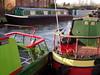 Red and Green should never be seen!!  3 Jan 2009 (DizDiz) Tags: uk england stone fender staffordshire railings narrowboats canaltown olympusc720uz january2009