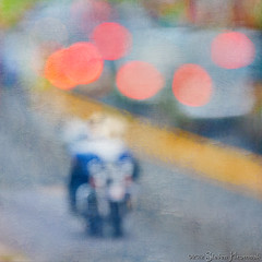 Getting Out of Town (GAPHIKER) Tags: abstract blur texture paint bokeh pa motorcycle newhope hss happyslidersunday lenabemanna