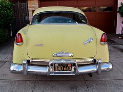 DBD 660 (Demetrios Lyras) Tags: sf 1954 sfist innerrichmond fourdoors hudsonhornet sanfranciscocausa originalyellowpaint buildatellisbrooks