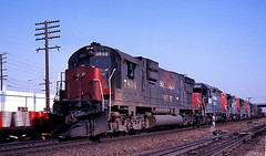 Before They Were Switch Engines (GRNDMND) Tags: california trains sp cityofindustry southernpacific alco espee c630