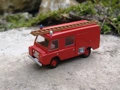 Carmichaels FT/6 Fire Engine (g-lander) Tags: fireengine ho landrover roco scalemodel scratchbuilt h0 187thscale carmichaelsft6
