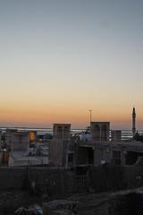 Evening in Tabl Port (roadconnoisseur) Tags: sunset sea streets port island evening boat persian ship village gulf iran minaret mosque qeshm badgir tabl