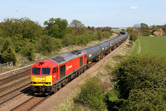 60017 6M00 New barnetby 04.05.2016 (Dan-Piercy) Tags: kingsbury tanks humber dbcargo class60 60017 knabbsbridge 6m00