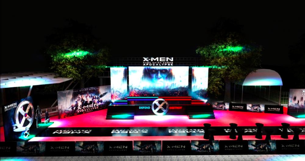 Offline Fan X-Men Nhận Hàng Trăm Tặng Phẩm Phim Cực Chất