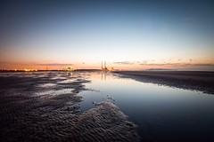Poolbeg Dawn (Rus) Tags: beach dawn manfrotto poolbeg sandymount firstlight cablerelease dublinbay southwall sigma1020 nikond5000