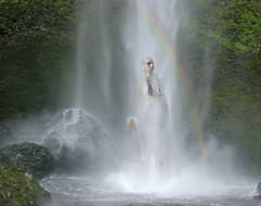 15= CASCATA  THE FALL (ADRIANO ART FOR PASSION) Tags: cascata waterfall corpo body nudo sottolacqua arcobaleno rainbow oregon usa nikon nikond80 nikkor1680vr columbiarivergorge acqua water ~themagicofcolours~viii