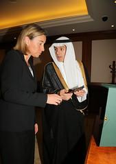 Federica Mogherini visits Saudi Arabia (European External Action Service - EEAS) Tags: mogherini eeas saudiarabia jeddah gulf gcc aljubeir saudi arabia