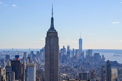 Cannot get over that I was here and this was my photo  (lmjdoherty803) Tags: city nyc travel newyork topoftherock
