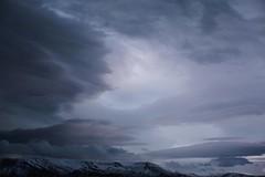 (mari-ann curtis) Tags: morning travel pink blue winter light sky snow mountains cold clouds sunrise landscape iceland reykjavik adventure nostalgia noon marianncurtis