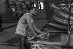 Wanna Play? (Daniel C. Brunner) Tags: family blackandwhite bw germany blackwhite bokeh brother sony playboy f18 tobias bnw indoorplayground bruder schwarzweis sonyalpha a6000 sel35f18 alpha6000