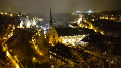 DSC_0938 (J_a_m_e_s) Tags: old city snow night town luxembourg