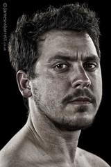Leng Montgomery (2016) (james m barrett) Tags: portrait beard intense handsome desaturated trans transguy transmen transpride harshbeautiful