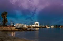 (Julio Tomillo) Tags: espaa azul puerto noche mar spain nikon europa europe ibiza nikond5100