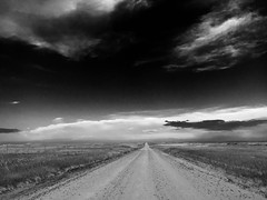 Oglala Heaven. (Wanderer Photography) Tags: road trees sky grass clouds blackhills nebraska heaven peace wind spirit air country ne dirt national silence serenity soul toadstool grassland gravel oglala
