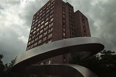 boa (Standing Clouds) Tags: sky storm color building analog canon snake feel streetphotography documentary leipzig boa highrise a1 analogue gentrification analogphotography thunder feelings eastgermany subjective colorfilm grnau colourfilm originalphotography strasenfotografie hannesherbst