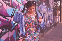 cotton candy (kevin.tacuban) Tags: pink fashion fashionphotography grunge harajuku grungy fashioneditorial fashionstyle tokyofashion