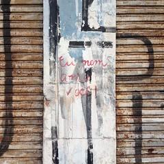 declarao (BelaAS) Tags: street streetart muro amor poesia recado