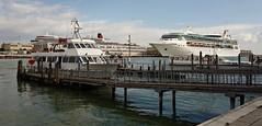 Port of Venice (Wulfruna Kid) Tags: rhapsodyoftheseas royalcaribbeaninternational visionclass queenelizabeth cunard venice 2016