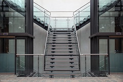 Symmetry (Maurits van den Toorn) Tags: england architecture stairs manchester symmetry treppe staircase trap architectuur symmetrie symmetrisch