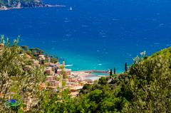 Recco (Simone_Callegari) Tags: blue sea italy panorama colors landscape town spring nikon italia mare liguria genoa genova nikkor 2016 recco 1685 d7000