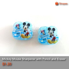 Price non negotiable   Having a     bash?  @@ OhMyGoody wide range of varieties & goodies www.facebook.com/ohmygoodyOMG  Send queries to:- Ohmygoody@hotmail.com SMS / Whatsapp us @ 8587 2385 for more details.   Singpost (Oh My Goody) Tags: pencil children square eraser disney mickey gift squareformat mickeymouse present birthdaygift stationery sharpener birthdaypresent goodiebag presentforkids iphoneography instagramapp uploaded:by=instagram greatgiftforkids ohmygoody
