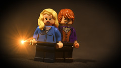 LEGO Bill and Fleur Weasley (Geertos13) Tags: fleur phoenix beautiful bill order lego harry potter custom minifigure phlegm customize veela weasley minifigures beauxbatons delacour