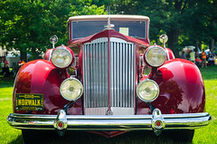 Norwalk (GmanViz) Tags: color detail car nikon automobile headlights bumper chrome grille fenders packard roadster 1935 gmanviz d7000
