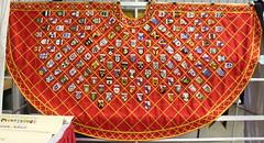 Pelican Heritage Cloak (Drowsy Mary) Tags: sca 062416 danville indiana 50year cloak lochac
