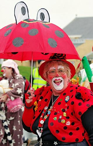 Clowns international - Lady Bird and Snoozy