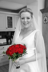Emma (Mikes Photos2009 / 2013) Tags: portrait bride noiretblanc colourspotting