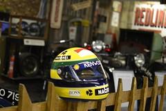 Senna Helmet (Stig the Geek) Tags: helmet collection grandprix april senna 2012 doningtonpark