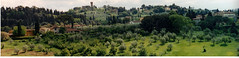 italy 2002 panorama 5 (lilbuttz) Tags: trees italy panorama courtney hillside villas accent foothillsemesterabroadspring2002 accentflorencespring2002