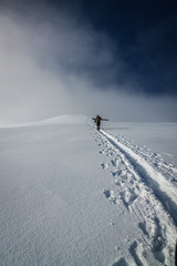 Almost there (Jens Inge Ringstad) Tags: winter snow ski norway sunnmre stranda strandafjellet roalden