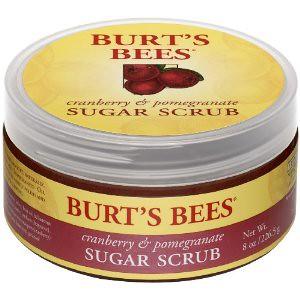 小蜜蜂Burt's Bees红莓石榴糖磨砂膏$31.44
