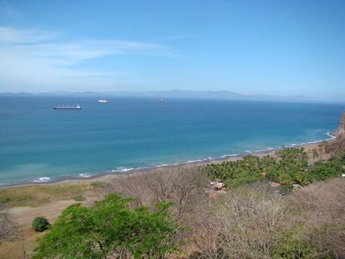 Vista al golfo de Nicoya e islas