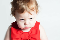 Ruby (Paul Fessey) Tags: baby cute girl ginger kid funny child sad adorable angry grumpy