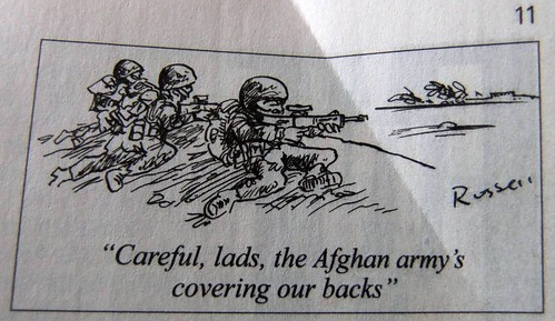 Afghan scene- Quite true to life, sad to say
