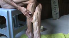 veronica calf 10 (Jonathan Mangold) Tags: woman female legs muscle muscular mature veins fitness calves flexing veiny