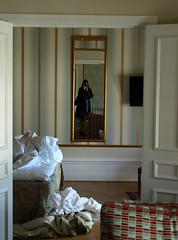 Leaving in the morning (DameBoudicca) Tags: lund reflection hotel mirror sweden spiegel schweden sverige suecia grandhotel hotell hôtel suède svezia spegel ringexcellence