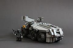 DARKWATER Baal APC 2 (✠Andreas) Tags: lego darkwater apc baal thepurge legomilitary armoredpersonelcarrier legoapc cyberpunkmilitary legoarmoredpersonelcarrier legodarkwater