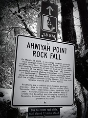 Ahwiyah Point rock fall (Kerri Baker) Tags: yosemite rockfall ahwiyahpoint