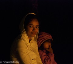 By the light of the campfire (trdastidar) Tags: portrait india children fire lowlight nikon raw child kerala campfire wayanad kalpetta meppadi d80