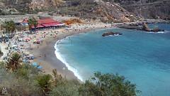 Cala Cortina Blue (Mariano R. Guasch) Tags: beach mar playa verano cartagena cala arte2000