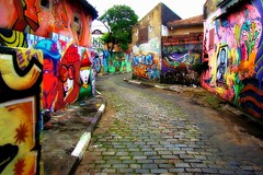 Colour Street (Serlunar (tks for 5.4 million views)) Tags: street colour graffiti flickrduel ishkolorkraft thebestofday gününeniyisi serlunar