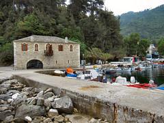 SKALA POTAMIAS HARBOUR. (ronsaunders47) Tags: boats harbour greece anchor thassos skalapotamias