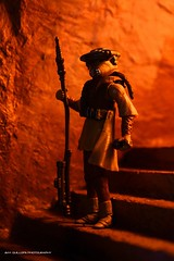 Princess Leia as Boushh (Clarkent78) Tags: toy toys actionfigure princessleia actionfigures diorama hasbro hansolo returnofthejedi boushh jabbathehutt toyphotography toydiorama clarkent78 toydiora