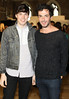 Michael Power & Oisin Byrne pictured at the ebay.ie fashion show at Smock Alley Theatre, part of the ebay.ie online fashion week. Photo: Anthony Woods.