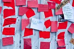 Más notas en sol (OndasDeRuido) Tags: madrid sol spanishrevolution acampadaalsol